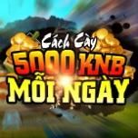 Tổng hợp cách kiếm 5000 KNB mỗi ngày
